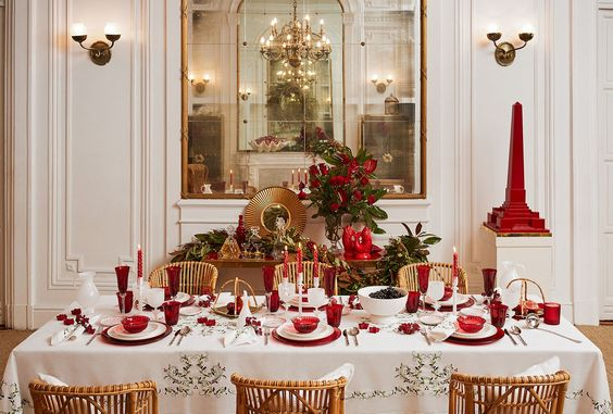 ideas para decorar tu mesa en la cena navidena 2017 2018 (15