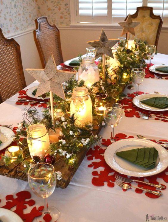 Ideas para decorar tu mesa en la cena navidena 2017 2018 for Ideas para decorar navidad 2017