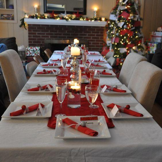 ideas para decorar tu mesa en la cena navidena 2017 2018 21