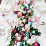 Ideas para decorar tu mesa en la cena navideña 2017-2018