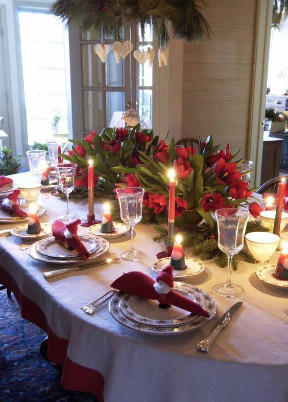 Ideas para decorar tu mesa en la cena navide a 2017 2018 - Decoracion navidena para la mesa ...