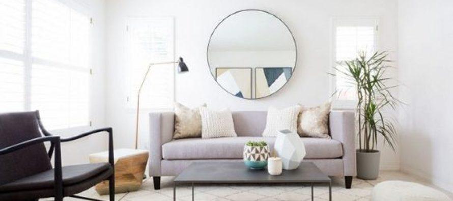 Ideas para decorar tu sala de estar con espejos