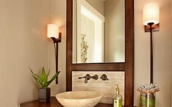 Ideas para decorar un baño de visitas