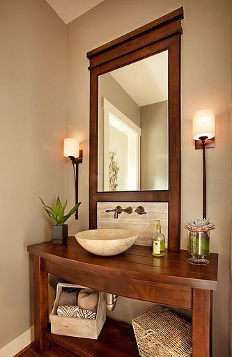 Ideas para decorar un ba o de visitas decoracion de - Ideas para decorar un bano ...
