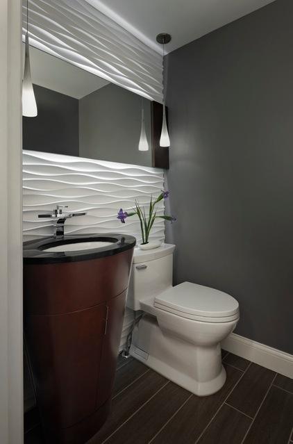 Ideas para diseñar y decorar medio baño