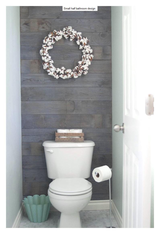 Ideas para disenar y decorar medio bano 23 curso de - Disenar cuarto de bano ...