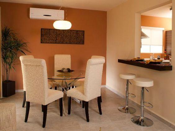 Ideas para integrar sala comedor y cocina 21 for Decoracion de interiores comedor