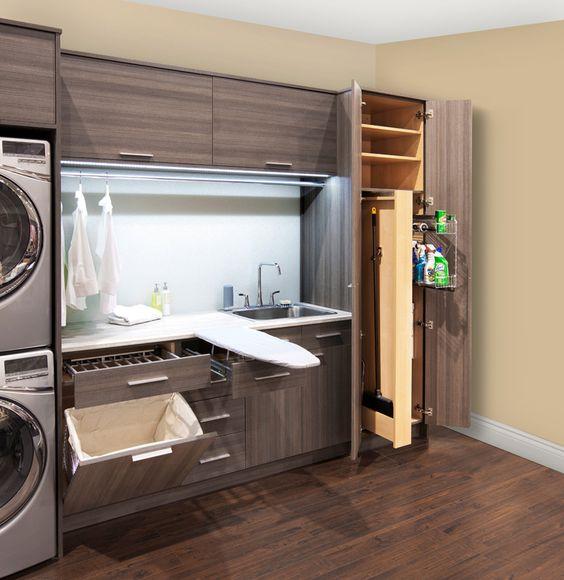 Almacenamiento para cuartos de lavado