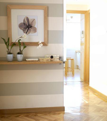Mas de 30 ideas para recibidores pequenos y acogedores 21 - Recibidores pequenos modernos ...