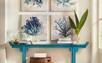 80 ideas para decoracion recibidores pequeños