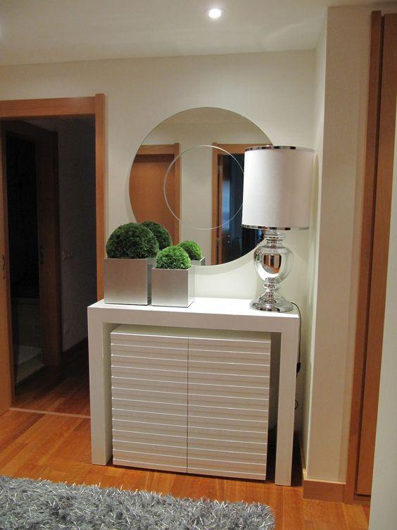 Muebles recibidores pequenos dise os arquitect nicos for Muebles para recibidores pequenos