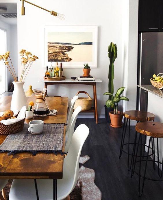 mesas-estilo-rustico-moderno-para-tu-comedor (18) | Curso de ...