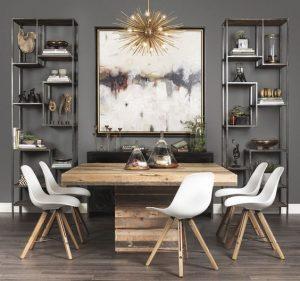 mesas-estilo-rustico-moderno-para-tu-comedor (21)   Curso de ...