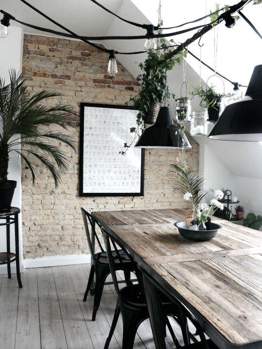 Mesas estilo rustico-moderno para tu comedor