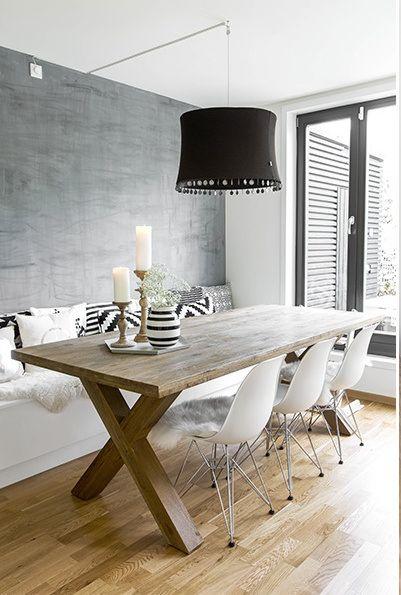Mesas estilo rustico moderno para tu comedor decoracion - Estilos de comedor ...