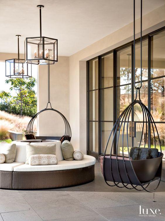 Sillas colgantes hanging chairs sillas colgantes que - Sillas colgantes interior ...