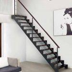 Tendencias en escaleras interiores de herrería