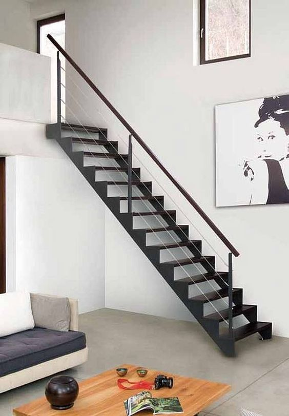 Tendencias en escaleras interiores de herrer a for Decoracion facil decasa