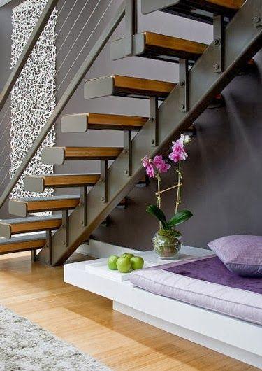 Tendencias en escaleras interiores de herreria 9 - Escaleras interiores medidas ...