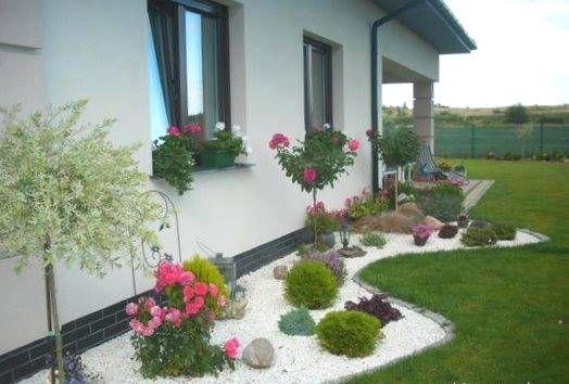 30 ideas preciosas para decorar tu jardin con grava blanca 28 curso de decoracion de - Jardin con grava ...