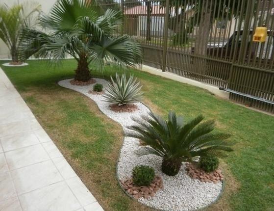 30 ideas preciosas para decorar tu jardin con grava blanca 30 curso de decoracion de - Jardin con grava ...