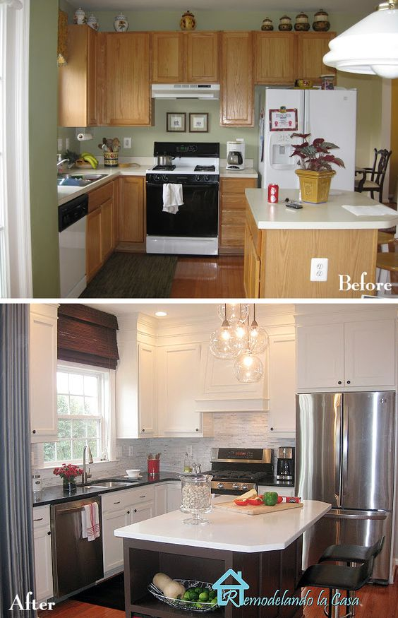 antes y despu s de la remodelaci n de una casa peque a On remodelacion de cocinas pequenas