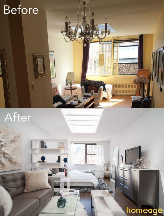 Remodelacion de salas pequeñas