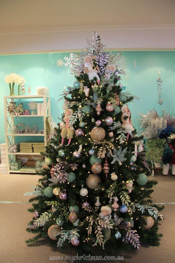 Arboles de navidad 2018 ideas para decorar el pino for Decoracion navidad 2017 tendencias