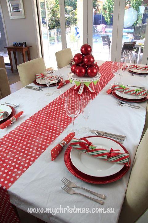Caminos para mesas de navidad