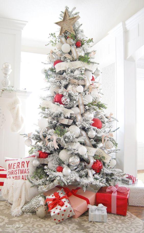 Como decorar un pino de navidad