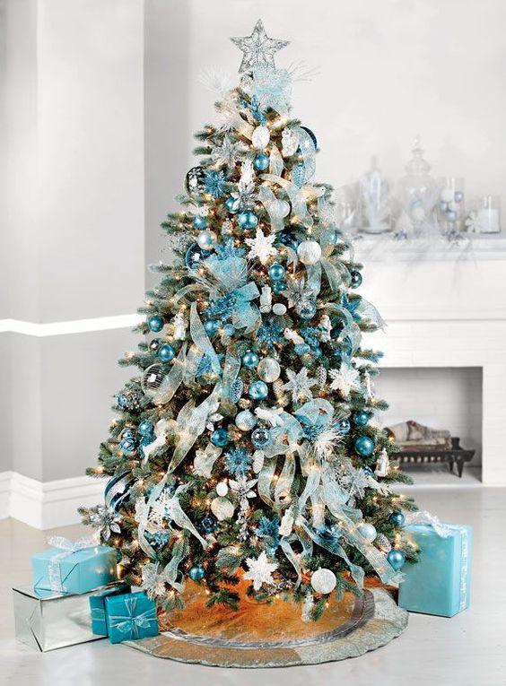 Decoracion de arboles de navidad 2018