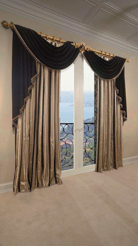 Dise o de cortinas para el hogar decoracion de interiores interiorismo decoraci n decora - Cortinas para el hogar modernas ...