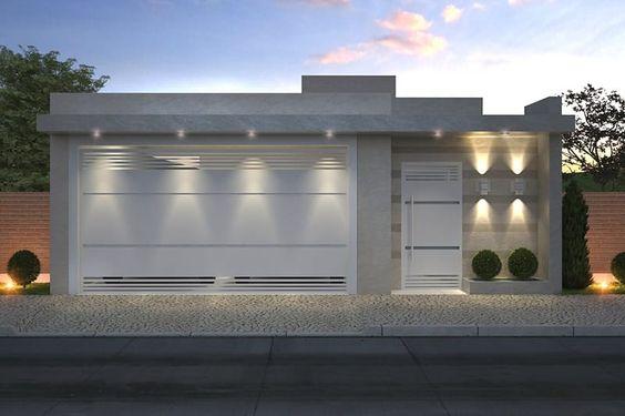 Fant sticas ideas para fachadas de casas de infonavit for Disenos de casas 10x20