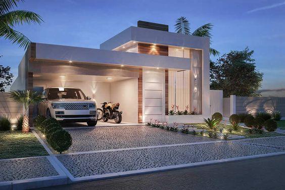 Fant sticas ideas para fachadas de casas de infonavit for Ideas para fachadas de casas modernas