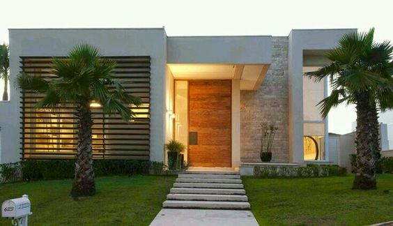 Fant sticas ideas para fachadas de casas de infonavit for Casa moderna y lujosa