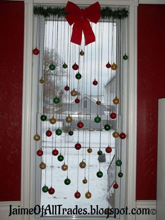 Ideas diy para decorar la puerta en navidad ideas paso a paso - Adornos navidenos diy ...
