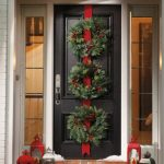 Ideas DIY para Decorar la Puerta en Navidad