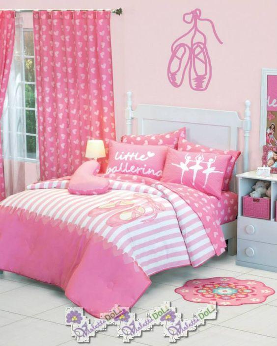 Dormitorios para niñas de bailarinas de ballet