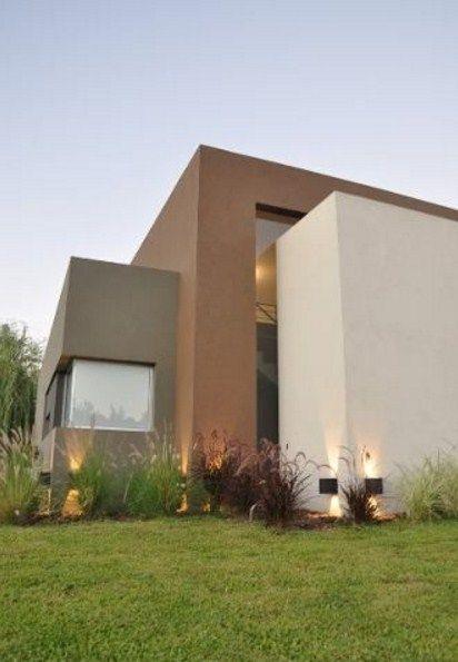 Fachadas de casas de infonavit tendencias 2018 for Fachadas casas color arena