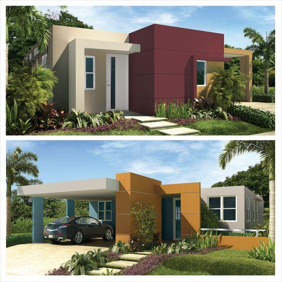 Colores para fachadas de casas sencillas