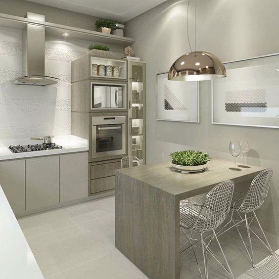 Dise os de cocinas con estilo contempor neo decoracion for Estilos de cocinas