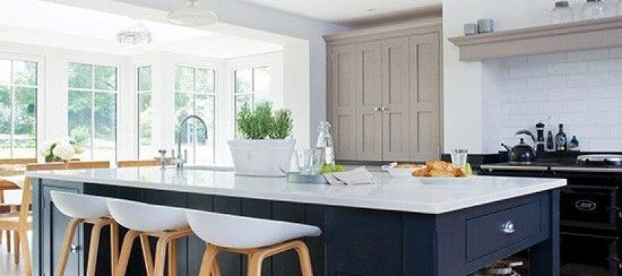 Dise os de cocinas modernas con desayunador decoracion for Cocinas modernas pequenas para apartamentos con desayunador