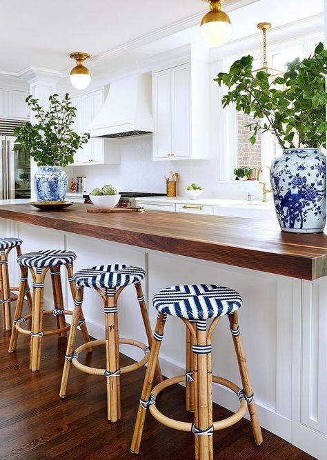 Dise os de cocinas modernas con desayunador decoracion for Diseno de cocina online
