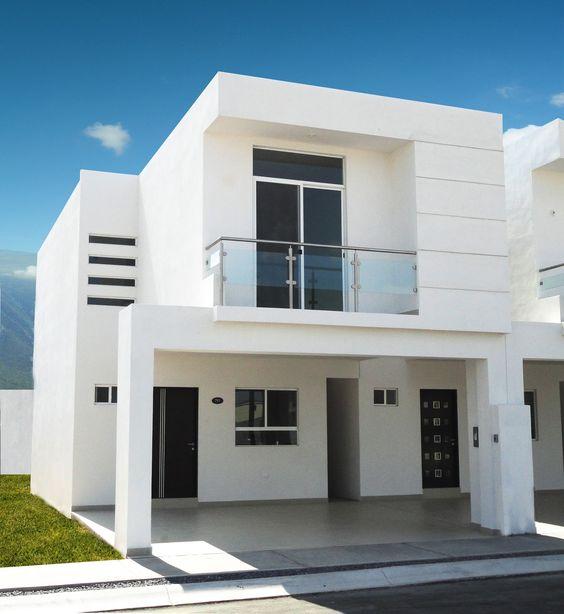 Fachadas de casas de infonavit de dos pisos