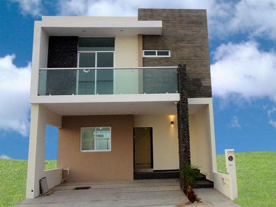 Fachadas de casas de infonavit tendencias 2018 for Fachadas de casas de 2 pisos pequenas