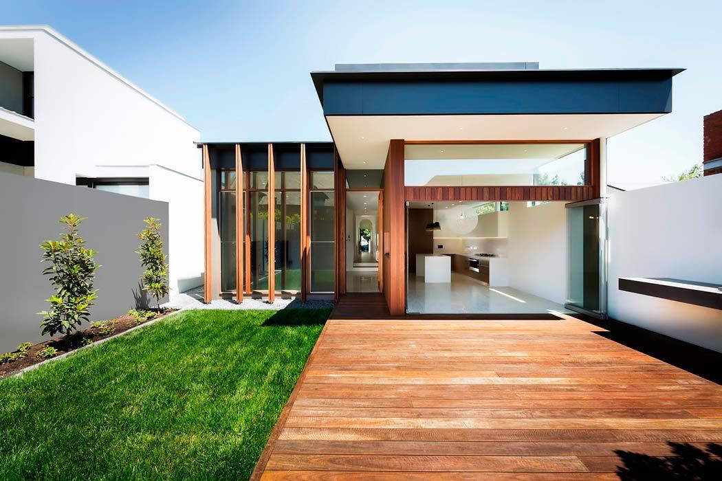 Fachadas de casas modernas pequeñas de infonavit