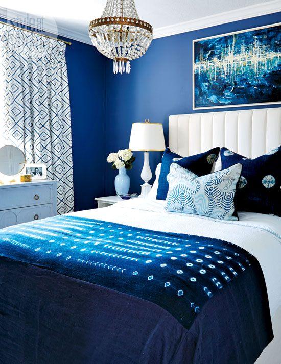 Habitaciones de color azul