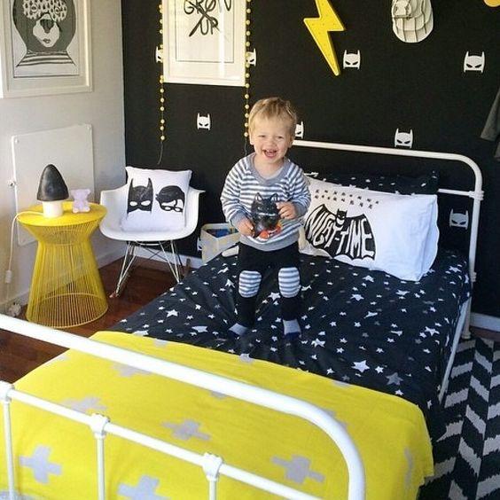 Habitaciones infantiles de batman