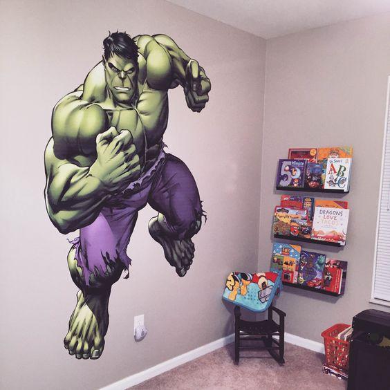 Habitaciones infantiles de Hulk