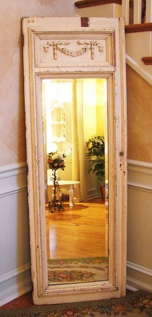 Detalles de los espejos antiguos